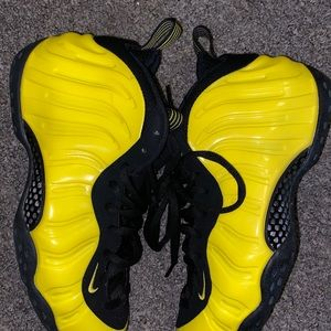 Yellow and black foams, barely worn!!